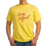 Lusty Leopard Yellow T-Shirt