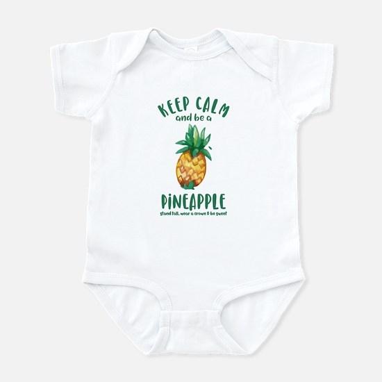 Keep Calm Pineapple Infant Bodysuit