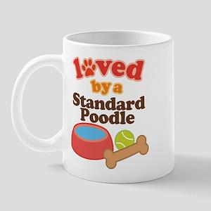 Standard Poodle Dog Gift Mug