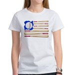 Patriotic Baseball Women's T-Shirt