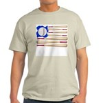 Patriotic Baseball Light T-Shirt