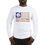 Patriotic Baseball Long Sleeve T-Shirt
