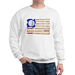Patriotic Baseball Sweatshirt