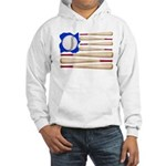Patriotic Baseball Hooded Sweatshirt