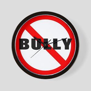 No Bully Wall Clock