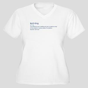 knit-ting Plus Size T-Shirt