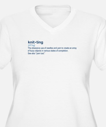knit-ting Plus Size T-Shirt