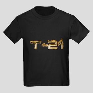 T-21 Metal on Fire Kids Dark T-Shirt
