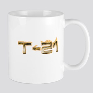 T-21 Metal on Fire Mug