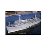 USS McKEE Rectangle Magnet