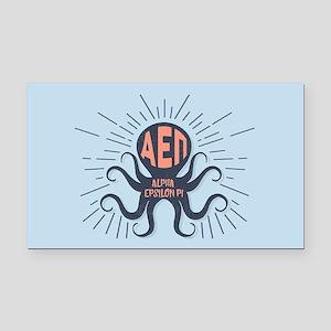 Alpha Epsilon Pi Octopus Rectangle Car Magnet