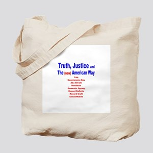Truth,Justice,The(new) American Way Tote Bag