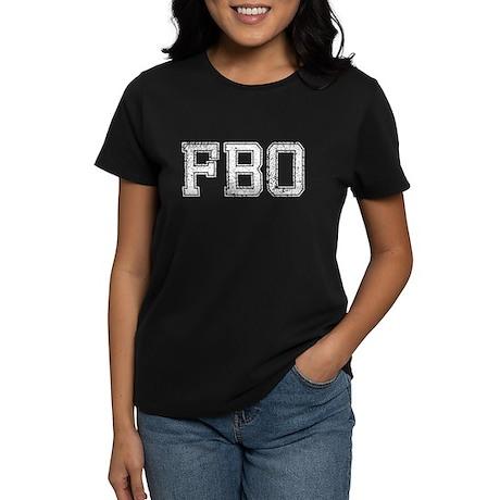 FBO, Vintage, Women's Dark T-Shirt