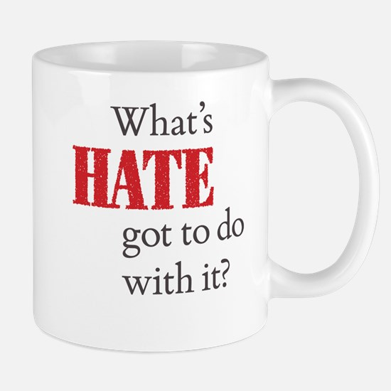 What's HATE got to do with it? Mug