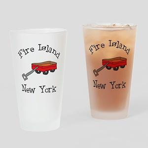 Fire Island Drinking Glass