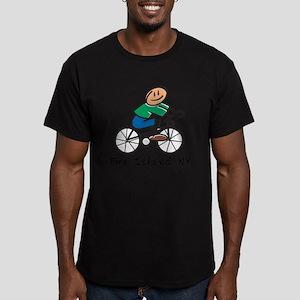 Fire Island Men's Fitted T-Shirt (dark)