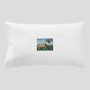Wheaten Terrier butterfly Pillow Case