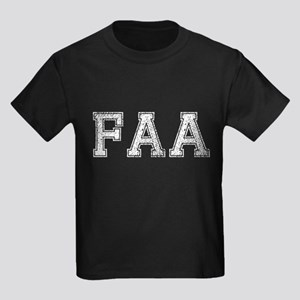 FAA, Vintage, Kids Dark T-Shirt