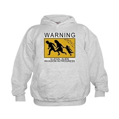 Illegal Invasion Warning Hoodie
