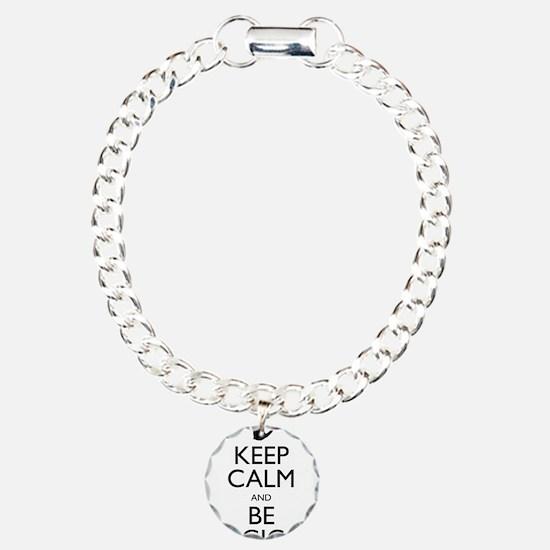 Keep Calm and Be Logical Bracelet