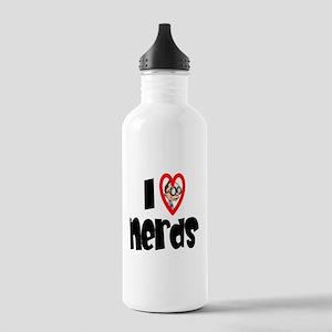 I Love Nerds Stainless Water Bottle 1.0L