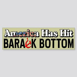 """Barack Bottom"" Sticker (Bumper)"