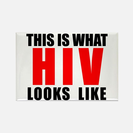 HIV.png Rectangle Magnet
