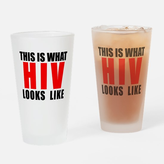 HIV.png Drinking Glass