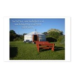 Toad Hall Yurt 1Postcards (Package of 8)