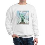 The Stat-shoe of Liberty Sweatshirt