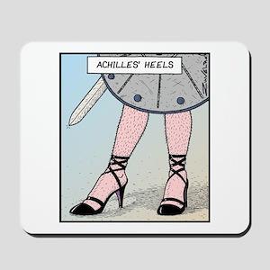 Achilles heels Mousepad