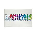 Franimals Rectangle Magnet (100 pack)