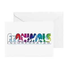 Franimals Greeting Cards (Pk of 10)