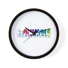 Franimals Wall Clock
