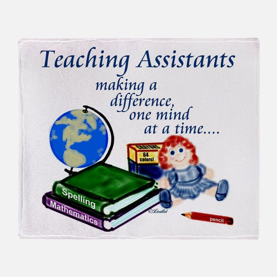 Cute Teaching Throw Blanket