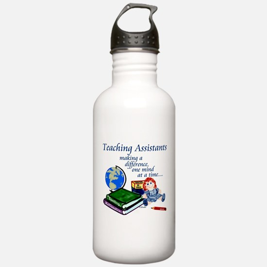 Funny Teachers making a difference Water Bottle
