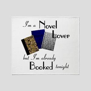 Novel Lover Throw Blanket