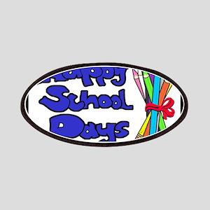 Happy School Days Patches