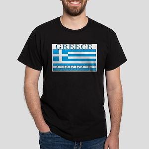 Greece Greek Flag Ash Grey T-Shirt