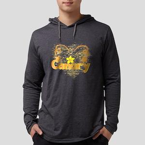 Canary Mens Hooded Shirt