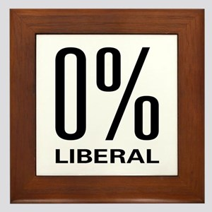 0% Liberal Framed Tile