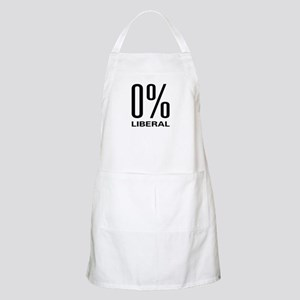0% Liberal BBQ Apron