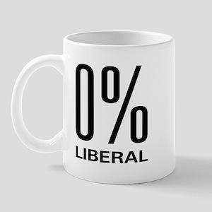0% Liberal Mug