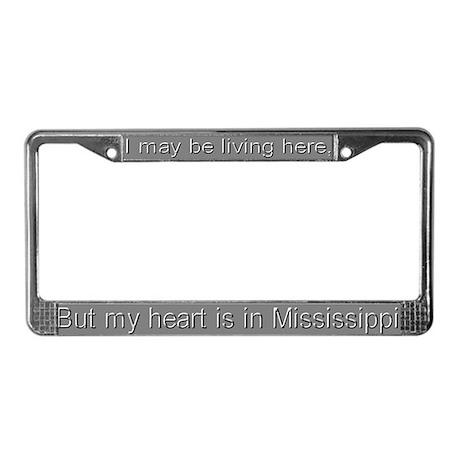 """""""Mississippi"""" License Plate Frame"""