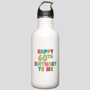 Happy 60th B-Day To Me Stainless Water Bottle 1.0L