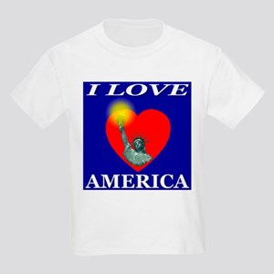 I Love America First Edition Kids T-Shirt