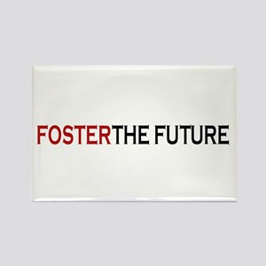 Foster the future Rectangle Magnet