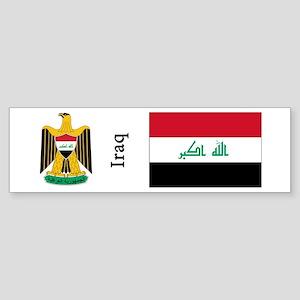 Iraq Sticker (Bumper)