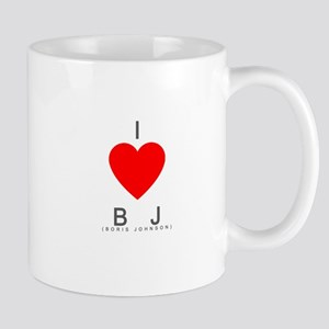 I Love BJ (Boris Johnson) Mug