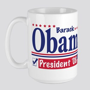 Vote Barack Obama 2008 Large Mug